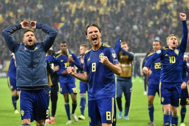 Xác định 12 đội tuyển dự Euro 2020 - 2