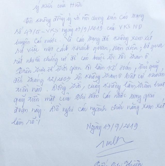 Tòa sơ thẩm tuyên án tù, nguyên kế toán ủy ban thị trấn tiếp tục kháng cáo kêu oan - 7
