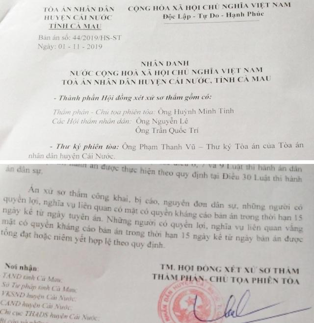 Tòa sơ thẩm tuyên án tù, nguyên kế toán ủy ban thị trấn tiếp tục kháng cáo kêu oan - 2