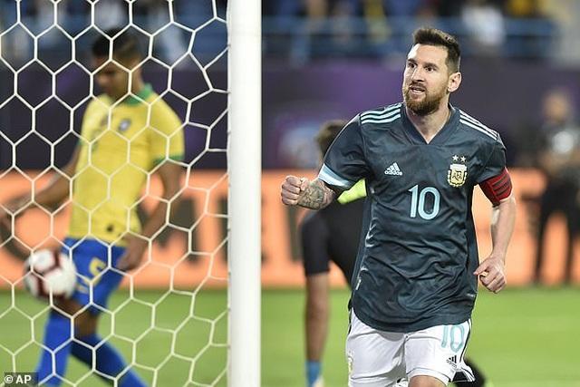 Messi ghi bàn duy nhất, Argentina phục thù thành công trước Brazil - 3