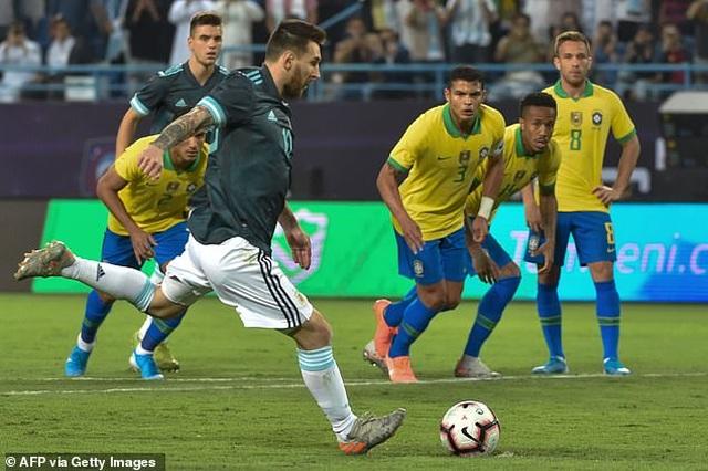 Messi ghi bàn duy nhất, Argentina phục thù thành công trước Brazil - 2