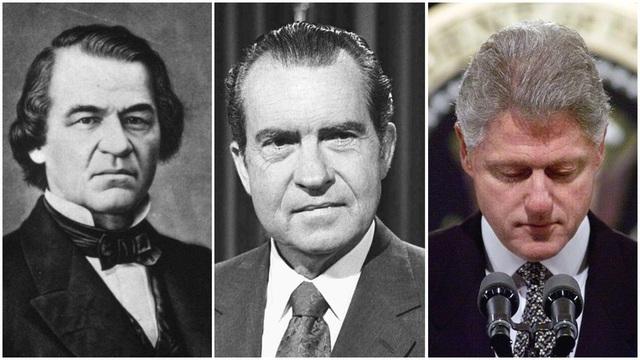 Những vụ luận tội Tổng thống trong lịch sử nước Mỹ - 1