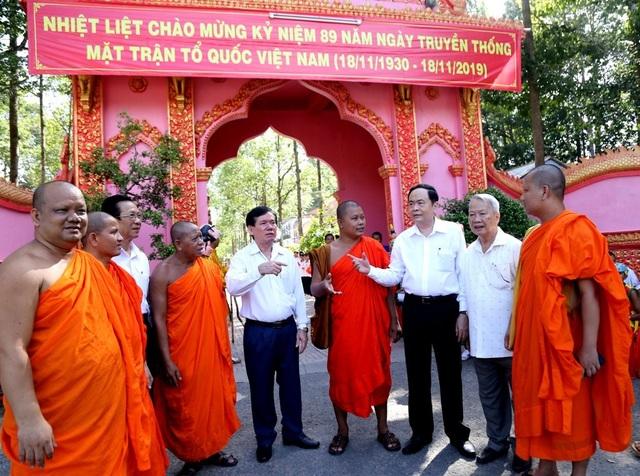 Chủ tịch Quốc hội Nguyễn Thị Kim Ngân dự Ngày hội Đại đoàn kết toàn dân tộc - 2