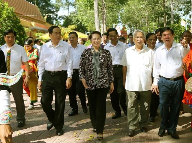 Chủ tịch Quốc hội Nguyễn Thị Kim Ngân dự Ngày hội Đại đoàn kết toàn dân tộc - 1