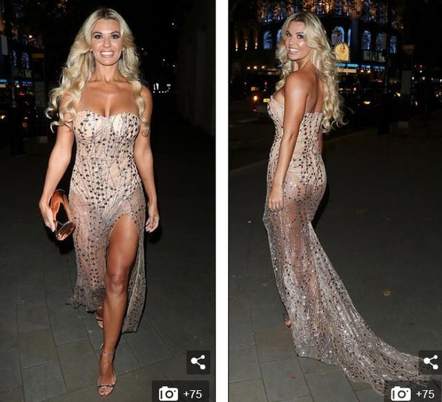 Người đẹp Anh diện váy xuyên thấu táo bạo - 3