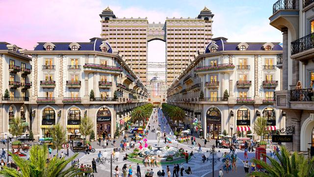 Khám phá thiên đường mua sắm của phố đi bộ thương mại Royal Vạn Phúc - 1