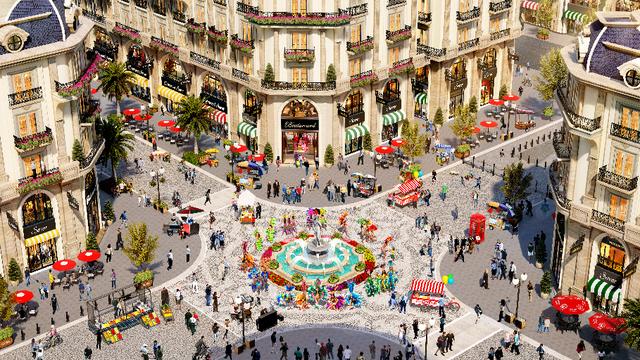 Khám phá thiên đường mua sắm của phố đi bộ thương mại Royal Vạn Phúc - 2