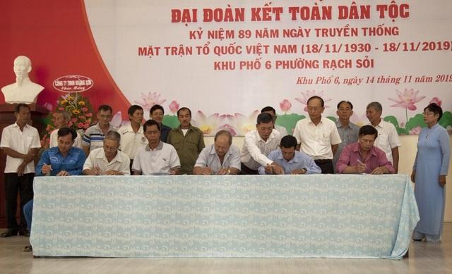 Ngày hội Đại đoàn kết: Tích cực xây dựng Đảng, chính quyền tại khu dân cư - 3