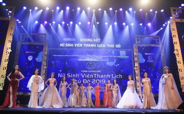 """Thiếu nữ ĐH Hà Nội đăng quang """"Nữ sinh thanh lịch Thủ đô 2019"""" - 3"""