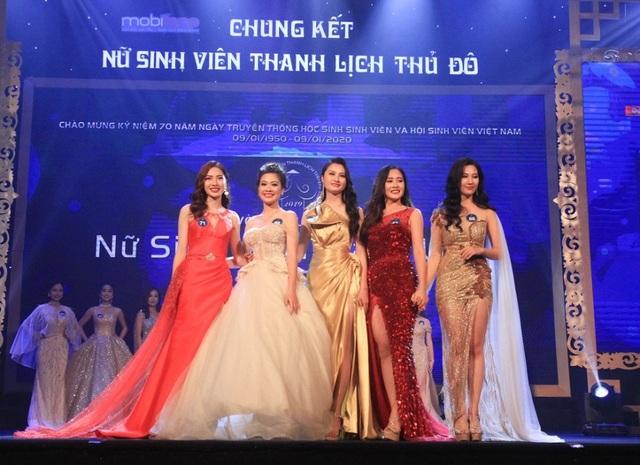 """Thiếu nữ ĐH Hà Nội đăng quang """"Nữ sinh thanh lịch Thủ đô 2019"""" - 4"""