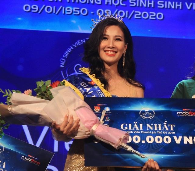 Thành tích nổi bật của Hoa khôi Nữ sinh viên thanh lịch Thủ đô 2019 - 1