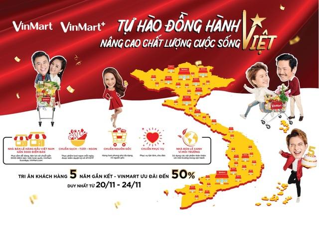 VinMart  VinMart+ siêu khuyến mại mừng sinh nhật 5 tuổi - 1