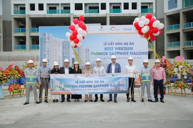 Best Western Premier Sapphire Ha Long cất nóc, đảm bảo tiến độ an tâm nhà đầu tư - 1