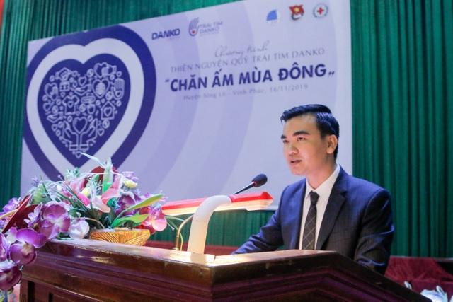 """""""Trái tim Danko"""" - Ấm áp chương trình thiện nguyện mùa đông tại huyện sông Lô, tỉnh Vĩnh Phúc - 5"""
