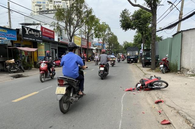 Trộm xe tải gây tai nạn liên hoàn trên đường phố Sài Gòn - 2