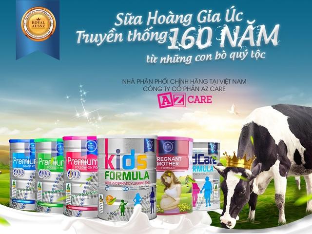 Sữa Hoàng Gia Úc với truyền thống 160 năm đã chính thức có mặt tại Việt Nam - 1
