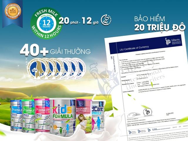 Sữa Hoàng Gia Úc với truyền thống 160 năm đã chính thức có mặt tại Việt Nam - 2