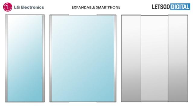 Lộ ý tưởng smartphone có khả năng biến hóa thành máy tính bảng độc đáo của LG - 2
