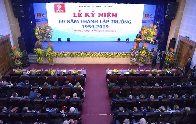 Trường Đại học Hà Nội kỷ niệm 60 năm thành lập - 1
