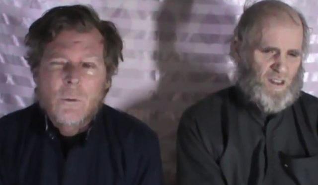 Hai giáo sư đại học Mỹ, Úc được phóng thích sau 3 năm bị bắt cóc - 1
