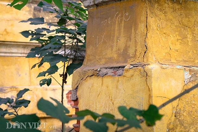 Hình ảnh biệt thự Pháp cổ trên đất vàng Hà Nội ngập trong rác - 11