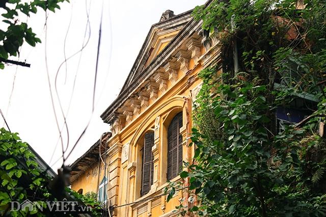 Hình ảnh biệt thự Pháp cổ trên đất vàng Hà Nội ngập trong rác - 13
