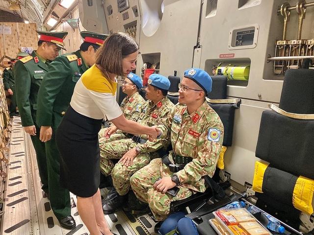 Australia điều ngựa thồ C-17 chở bệnh viện dã chiến Việt Nam đến Nam Sudan - 2