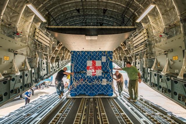Australia điều ngựa thồ C-17 chở bệnh viện dã chiến Việt Nam đến Nam Sudan - 3