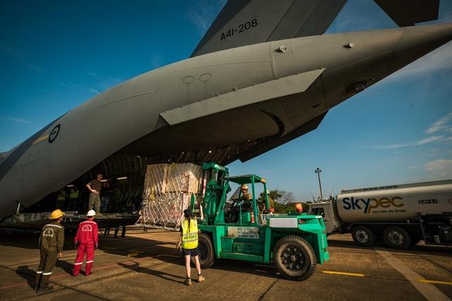 Australia điều ngựa thồ C-17 chở bệnh viện dã chiến Việt Nam đến Nam Sudan - 1