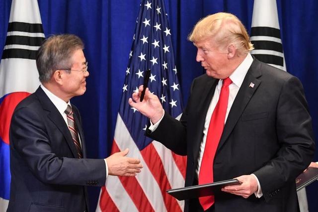 """Mỹ bỏ họp vì Hàn Quốc từ chối trả 5 tỷ USD """"phí bảo vệ"""" - 1"""