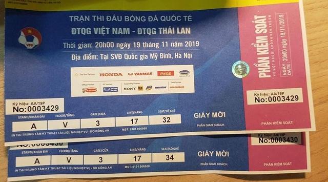 Trận Việt Nam - Thái Lan: Giá vé chỗ ngồi gần khu VIP nhất là bao nhiêu? - 5