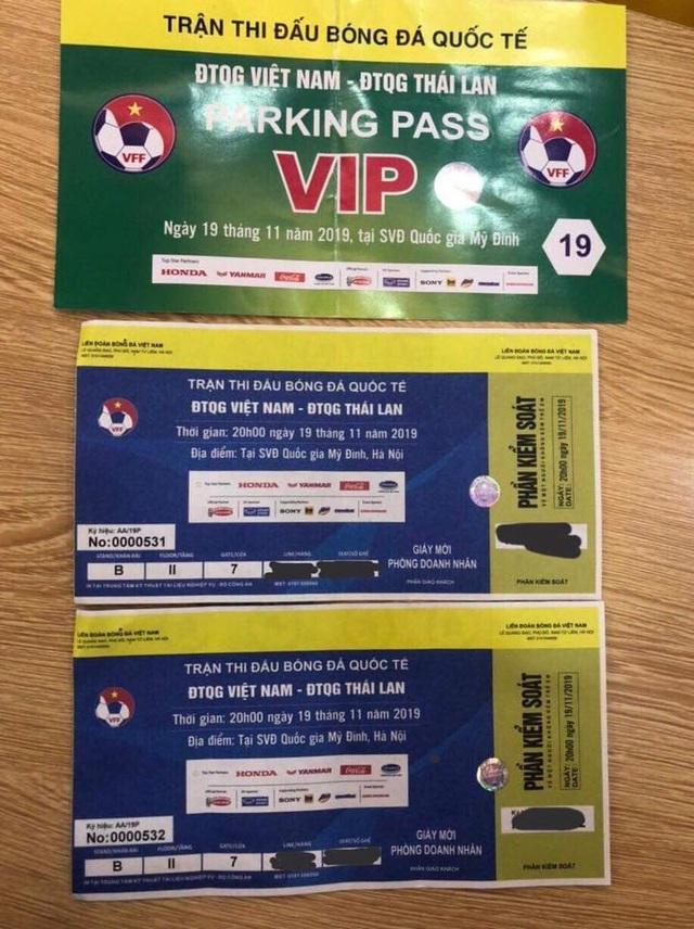 Trận Việt Nam - Thái Lan: Giá vé chỗ ngồi gần khu VIP nhất là bao nhiêu? - 3