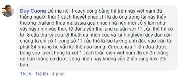 Dân mạng tấn công trang cá nhân của trọng tài bắt trận Việt Nam - Thái Lan vì hai tình huống gây tranh cãi - 4