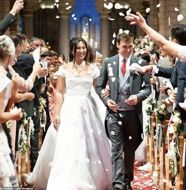 Nàng dâu gốc Việt lần đầu xuất hiện công khai trong sự kiện Hoàng gia Monaco - 4