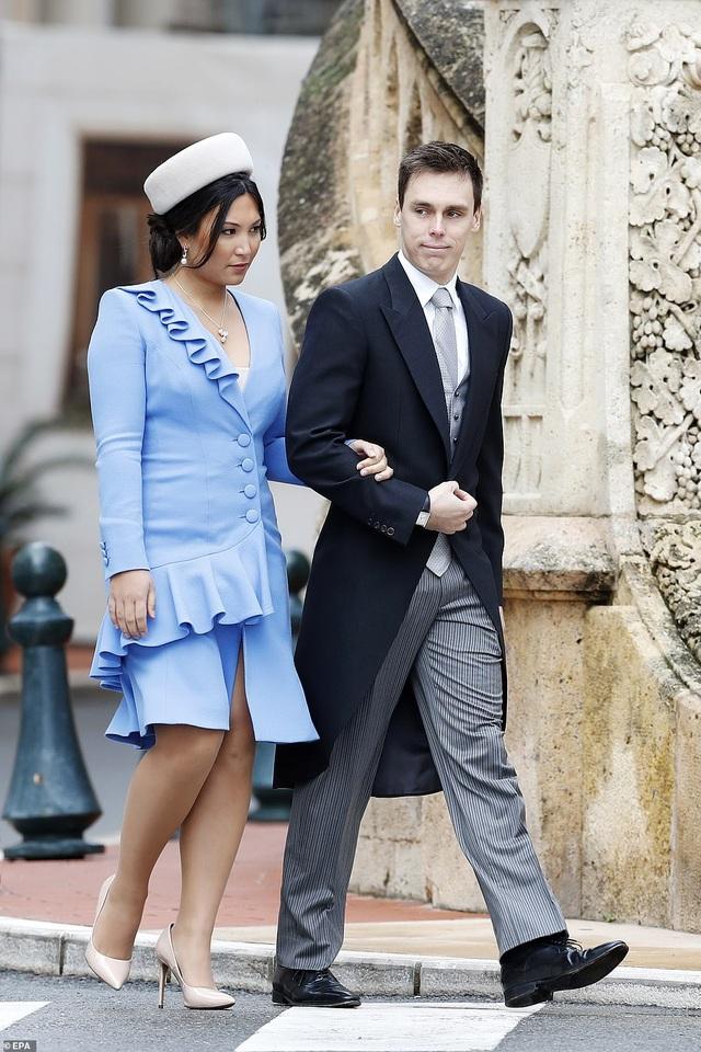 Nàng dâu gốc Việt lần đầu xuất hiện công khai trong sự kiện Hoàng gia Monaco - 1