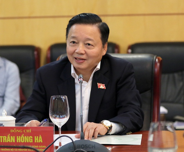 Bộ trưởng Trần Hồng Hà: Thường xuyên giám sát các dự án nhiệt điện Vĩnh Tân - 1