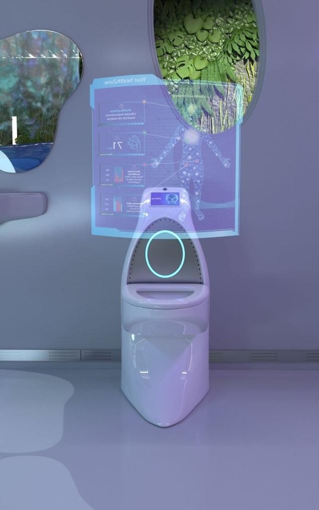 """Bồn cầu của tương lai: Biết tiện thể kiểm tra sức khỏe luôn cho người đang """"giải tỏa"""" - 2"""