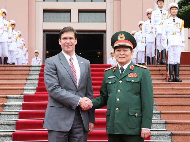 Bộ trưởng Bộ Quốc phòng Hoa Kỳ Mark Esper thăm chính thức Việt Nam - 2