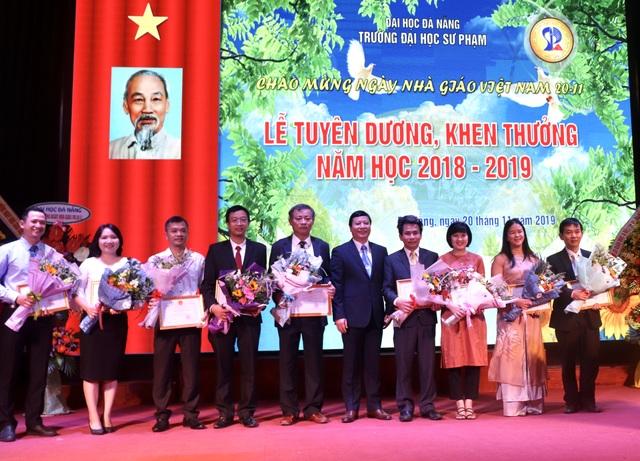 ĐH Sư phạm Đà Nẵng có 39 cán bộ, giảng viên đạt chiến sĩ thi đua cấp Bộ - 1