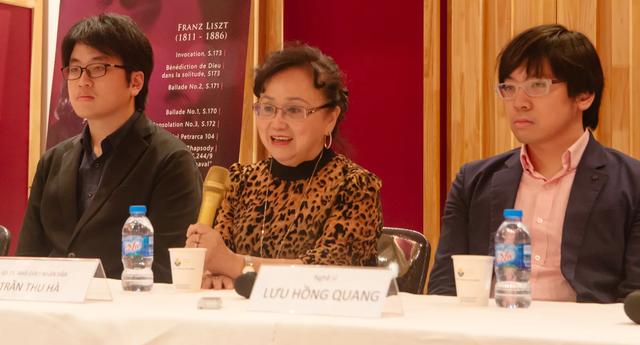 Chương trình hoà nhạc đặc biệt của nghệ sĩ piano Lưu Hồng Quang, Lưu Đức Anh - 2