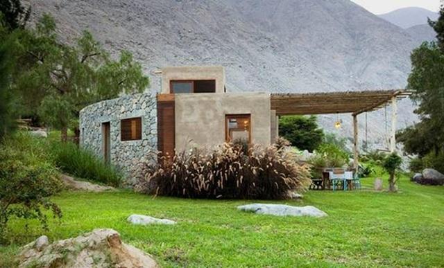 Nhà gỗ đất sét ngoài nhìn đơn giản trong có vẻ đẹp gây nghiện - 2