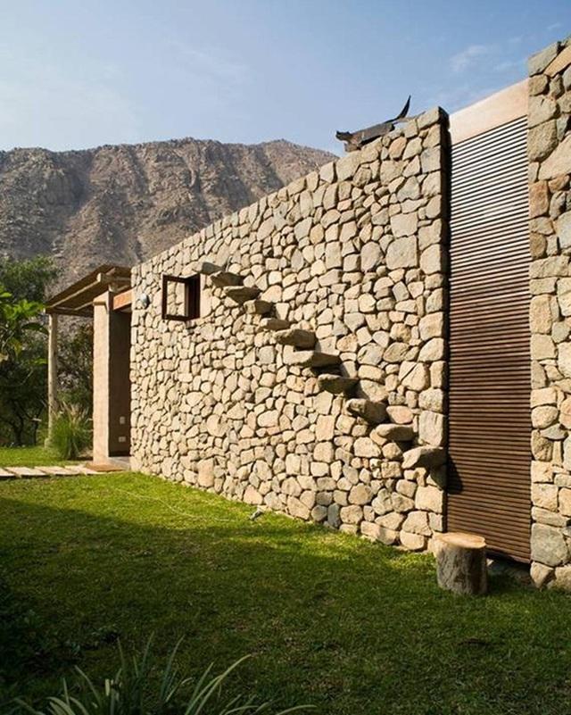 Nhà gỗ đất sét ngoài nhìn đơn giản trong có vẻ đẹp gây nghiện - 7