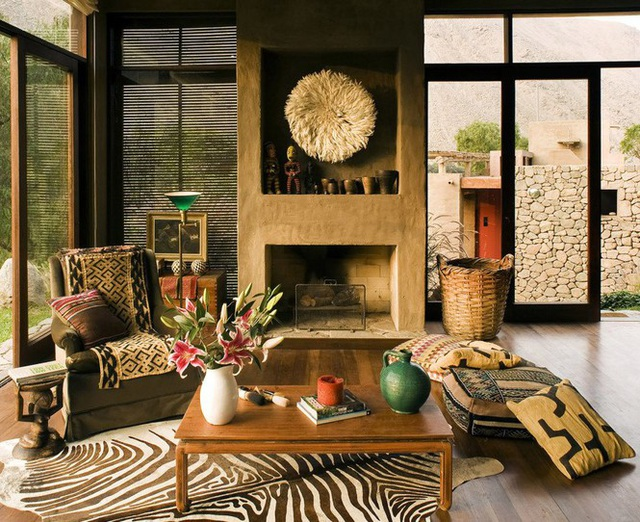 Nhà gỗ đất sét ngoài nhìn đơn giản trong có vẻ đẹp gây nghiện - 9