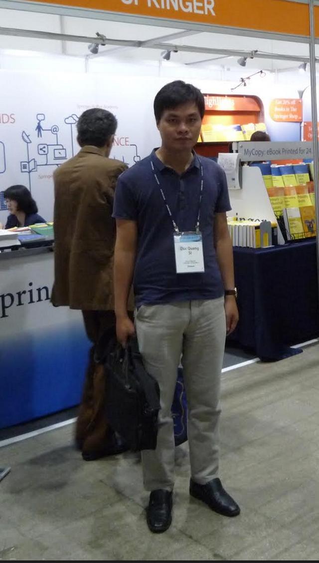 Sĩ Đức Quang - Giáo sư toán học trẻ nhất 2019 xuất thân từ gia đình bán đậu - 3