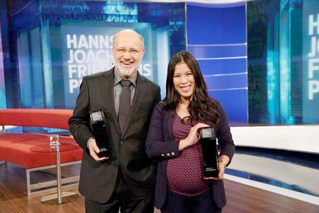 Nữ tiến sĩ hóa học gốc Việt đoạt giải truyền hình nổi tiếng ở Đức