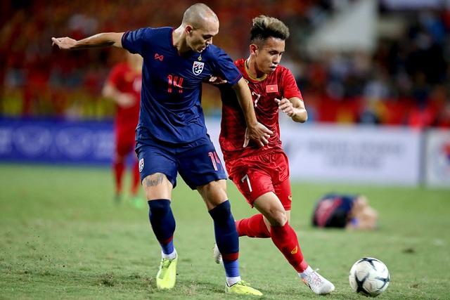 Vị thế giữa hai đội tuyển Việt Nam và Thái Lan sau trận đấu tại Mỹ Đình - 1