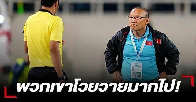 Thái Lan quyết làm tới cùng vụ trợ lý miệt thị HLV Park Hang Seo - 2