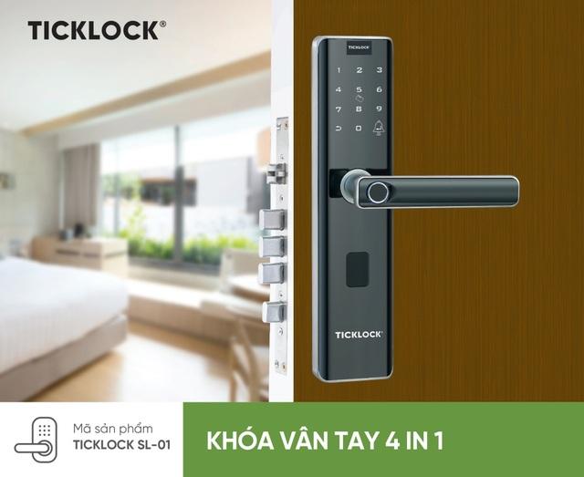 Khoá điện tử TickLock – Giải pháp an toàn dành cho mọi nhà - 1