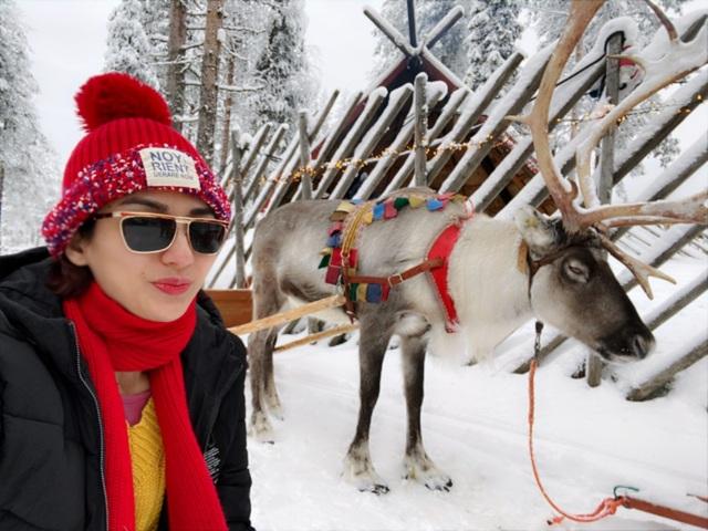 """Hoa hậu Ngọc Diễm khám phá ngôi làng """"ông già Noel"""" giữa âm độ C - 2"""