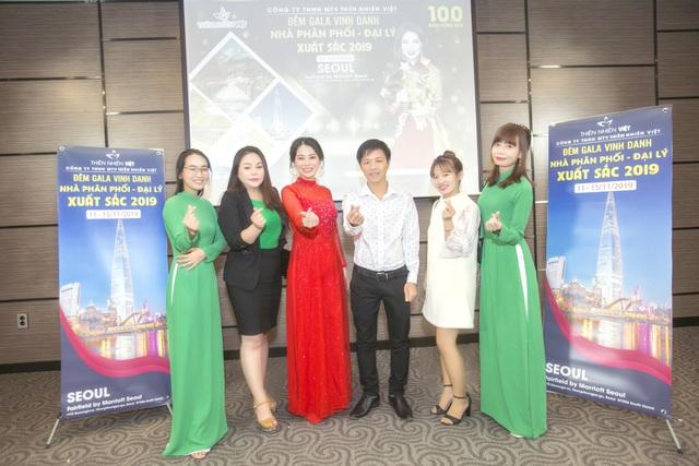 Công ty TNHH MTV Thiên Nhiên Việt tổ chức Gala vinh danh hệ thống xuất sắc tại xứ sở kim chi - 5